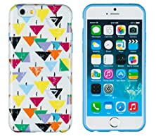"""buy Iphone 6 Plus + Case, Dandycase Perfect Pattern *No Chip/No Peel* Flexible Slim Tpu Case Cover For Apple Iphone 6 Plus (5.5"""" Screen) - Lifetime Warranty [Colorful Vintage Geometric Shapes]"""