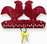 French Country Rooster Key Holder