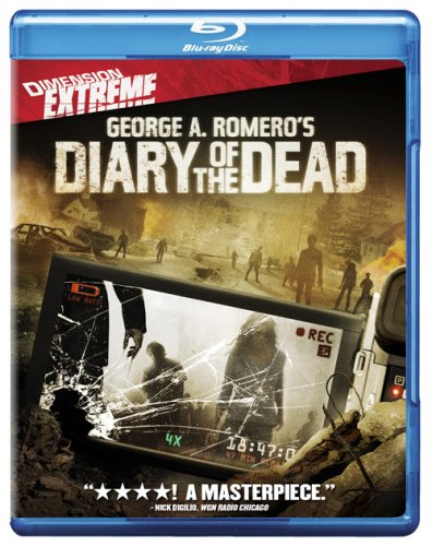 Cover art for  Diary of the Dead [Blu-ray]