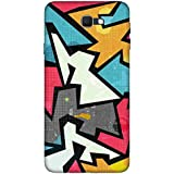 For Samsung Galaxy J5 (2017) Raffiti Geometric Seamless Pattern ( Raffiti Geometric Seamless Pattern, Grunge Effect, Seamless Pattern ) Printed Designer Back Case Cover By FashionCops