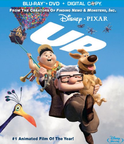 Cover art for  Up (Four-Disc Blu-ray/DVD Combo + BD Live) [Blu-ray]