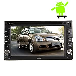 pupug 2 din in dash android 4 2 auto dvd player gps. Black Bedroom Furniture Sets. Home Design Ideas