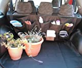 Bench Seat Cover with Back Seat Organizer. 3 Way Use! Innovative and Smart Design!