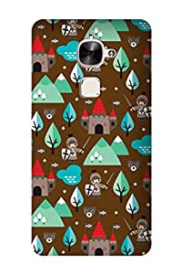 ZAPCASE Printed Back Cover for LeEco Le Max 2