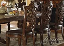 Big Sale ACME 60003 Vendome Side Chair, Cherry Finish, Set of 2
