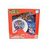 Mario 3pcWndwBoxSet-Plt/Bwl/Tmblr