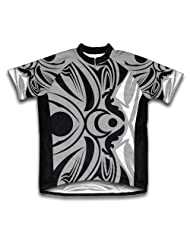 Moon Tattoo Short Sleeve Cycling Jersey for Women