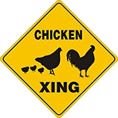 Chicken Sign by Noble Beast Graphics