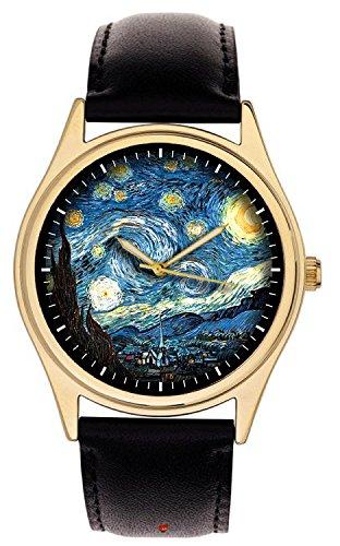 notte-stellata-di-vincent-van-gogh-capolavoro-art-gold-washed-grande-in-ottone-40-mm-orologio-da-pol