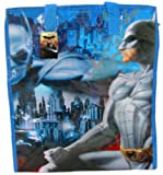 Large Size Blue Batman Tote Bag - Batman Travel Bag