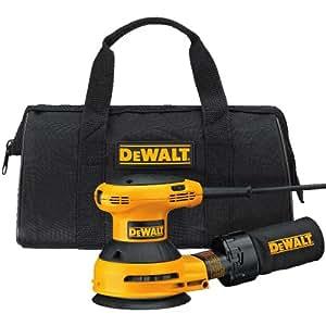 DEWALT D26453K 3 Amp 5-Inch Variable Speed Random Orbit Sander Kit with Cloth Dust Bag