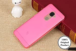 Grafins Soft TPU Silicon Back Cover for Leeco Le 2 (Pink)