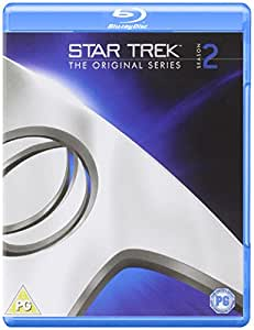 Star Trek: The Original Series Remastered - Season 2 [Blu-ray] [Import anglais]