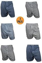 Chereskin Men's 3 Pack Knit Boxer Shorts