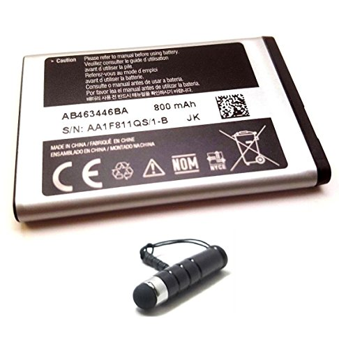 Samsung Original OEM Battery For T219 T239 A137 A107 T259 A197 AB463446BA 800mAh (W/Mini Stylus)