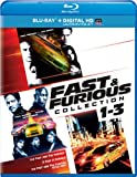 Fast & Furious Collection: 1-3 (Blu-ray + DIGITAL HD with UltraViolet)