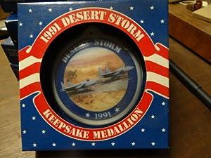 1991 Desert Storm Keepsake Medallion