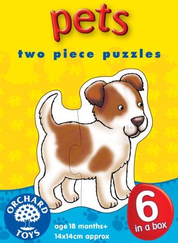Cheap Orchard Toys Pets 2 Piece Puzzles (B000MLV0ZQ)