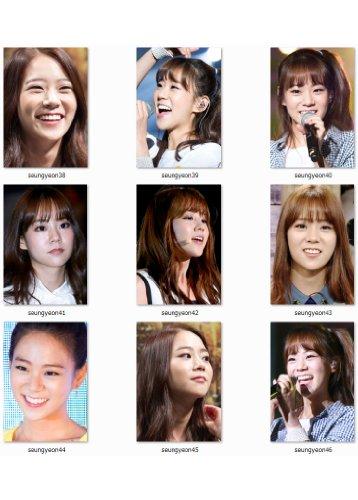 写真 【KARA】 カラ SeungYeon スンヨン 写真9枚セット [set no.kara-sy05]