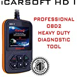 iCarsoft Heavy Duty Diagnostic Tool Scanner HD I for GMC Chevrolet Cummins Peterbilt Caterpillar and more