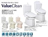 ジャニス タンク式トイレ バリュークリン 樹脂製タンク 手洗あり 仕様:リフォーム 寒冷地【SC0840-RGC-SV1900-1YF】 カラー:LR8