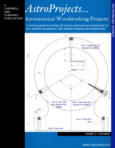 Amateur Astronomers Guide To Wood Working Projects