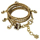 Ivory Star Bracelet, gold/gold-plated