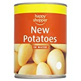 Happy Shopper New Potatoes in Water 560g (Pack of 12 x 560g)