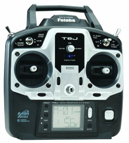 Hobbico-Futaba-6J-24G-SFHSS-R2006GS-TransmitterReceiver