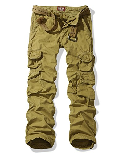 Match Men's Ranger Work Wear Utility Cargo Pants #6325 (US 34 (Tag size 2XL/36), Khaki)