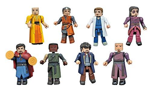 Marvel Minimates Series 70 Doctor Strange Movie Complete Set of 8 Figures