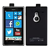 Kwmobile® Battery case for Nokia Lumia 925 Capacity: 2800mAh output: 5V/500mA. Extend the battery life of your Nokia Lumia 925 by miles!