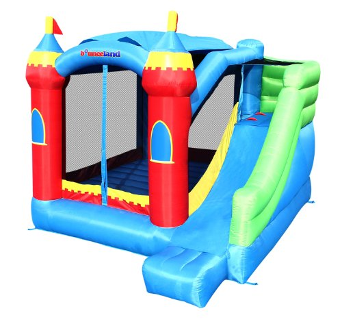 Bounceland Royal Palace Bounce House Bouncer with Slide