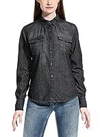 Meltin Pot Camisa Mujer Calixtad (Gris Oscuro)