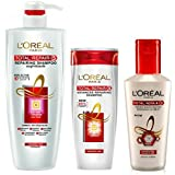 L'Oreal Paris Total Repair 5 Advanced Repairing Shampoo, 640 Ml, L'Oreal Paris Total Repair 5 Conditioner (175ml...