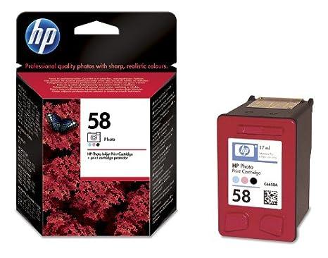 HP 58 Cartouche d'encre d'origine Noir photo