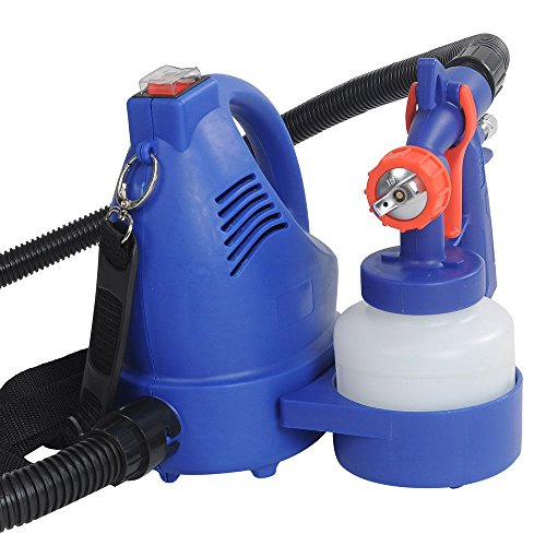 New Blue 600W Electric Airbrush Tanning Spray Tool Gun Kit W Flexible Air Hose