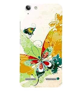 Butterfly Art 3D Hard Polycarbonate Designer Back Case Cover for Lenovo Vibe K5 Plus :: Lenovo Vibe K5+