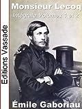 Monsieur Lecoq (Int�grale Volumes 1 et 2)