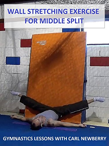 Wall Stretching Exercise for Middle Split