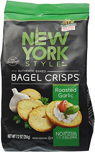 New York Style Original Bagel Crisps Roasted Garlic,7.2 OZ