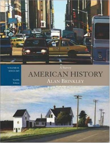 a survey of the history of america
