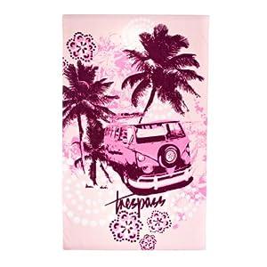 Trespass Sponger Beach Towel Candyfloss