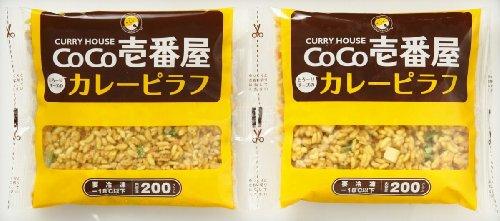 CoCo壱番屋 とろ~りチーズのカレーピラフセット CCP-30