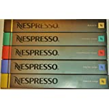 50 Nespresso Coffee Capsules Lungos and Ristretto Mixby Nespresso