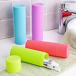 Shopo's Portable Travel Toothbrush Toiletries Stationery Holder Storage Box