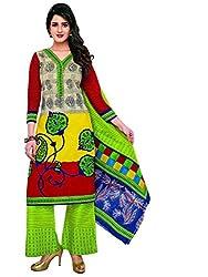 Komal arts EthnicwearWomen's Dress Material(KOMALSPL6005_Multi-coloured_Free Size)