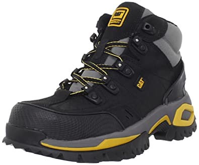 Amazon.com: Caterpillar Men's Interface Hi ST Work Shoe: Shoes