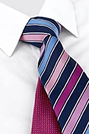 2 Pack Machine Washable Assorted Ties