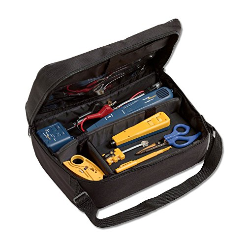 Fluke Networks Electrical Contractor Telecom Kit II with Pro3000 Analog Tone and Probe Kit and Case (Fluke Probe Pic compare prices)